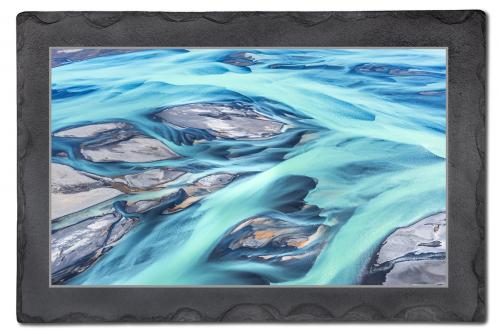 Island - Gletscherfluss Blau