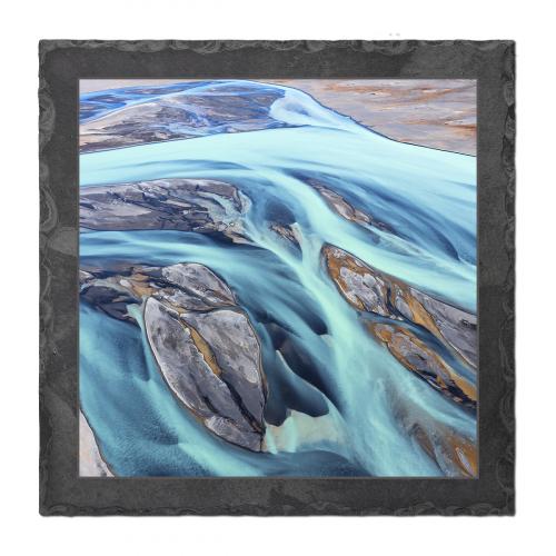 Island - Schmelzwasser-Fluß an der Südküste