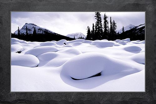 Schneehügel