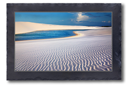 Weiße Sandwüste
